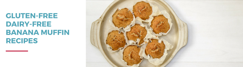 Gluten-free Dairy-free Banana Muffin Recipes