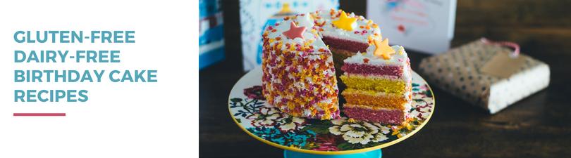 Gluten-free Dairy-free Birthday Cake Recipes