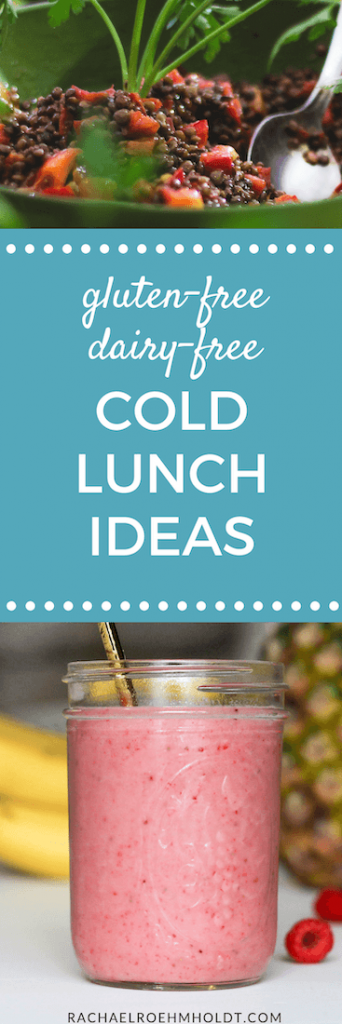 Gluten-free Dairy-free Cold Lunch Ideas