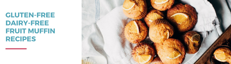Gluten-free Dairy-free Fruit Muffin Recipes