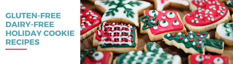 Gluten-free Dairy-free Holiday Cookie Recipes