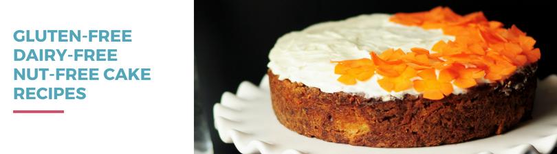 Gluten-free Dairy-free Nut-free Cake Recipes
