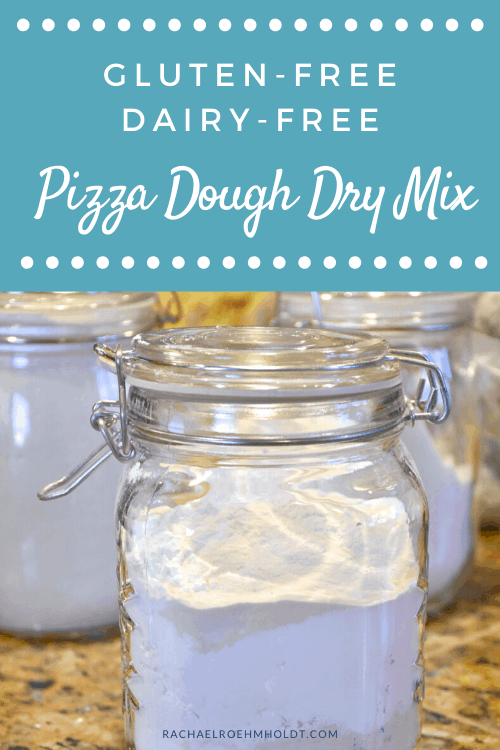 Gluten-free Dairy-free Pizza Dough Dry Mix