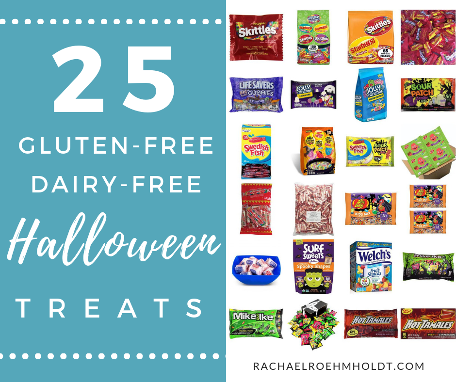 If you're eating a gluten-free dairy-free diet, you might wonder what's safe when it comes time for Halloween treats. Don't worry, I've got you covered with these 7 tips for navigating Halloween parties PLUS 25 gluten-free dairy-free safe treats and brands! Click through for the full post!