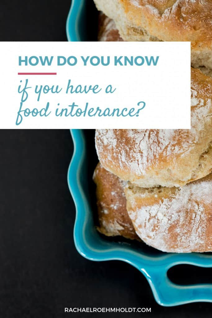 How do you know if you have a food intolerance