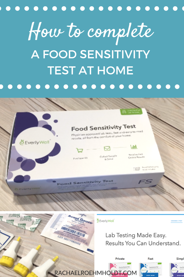 How to complete a food sensitivity test at home