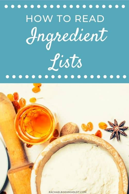 How to Read Ingredient Lists