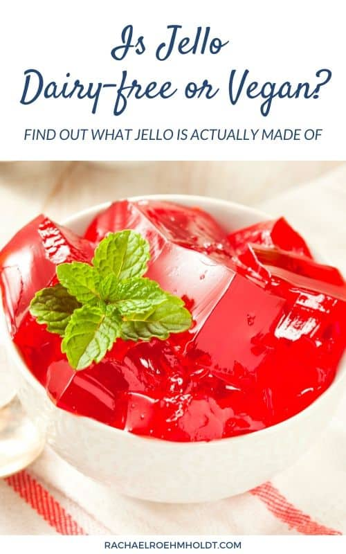 Is Jello Dairy-free or Vegan? Find out what Jello is actually made of