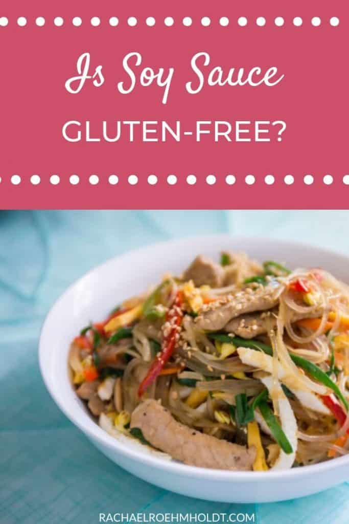 Is Soy Sauce Gluten-free