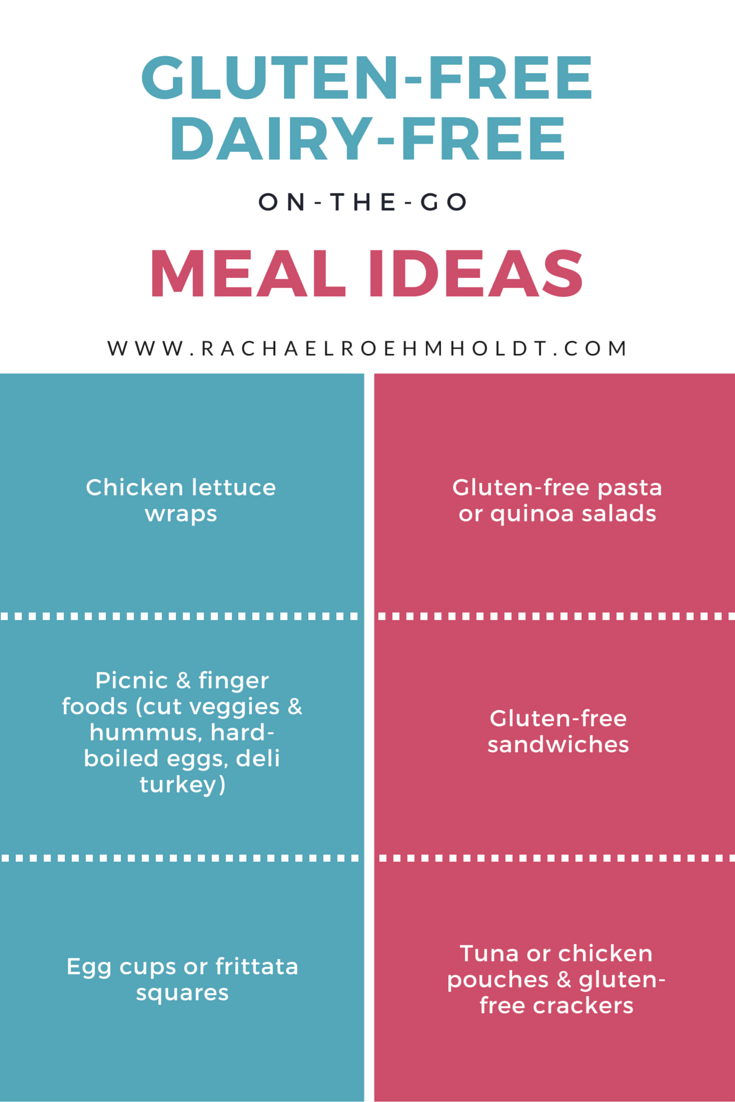 On-the-Go GFDF Meal Ideas For Busy People | RachaelRoehmholdt.com