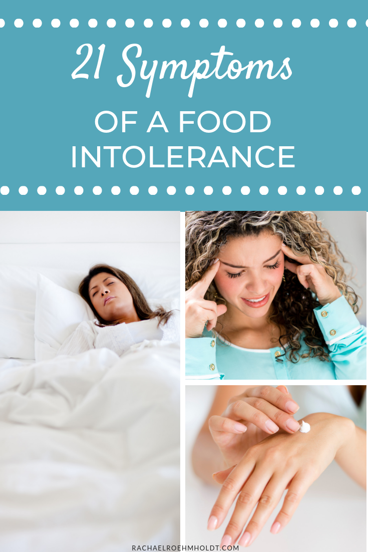 21 food intolerance symptoms
