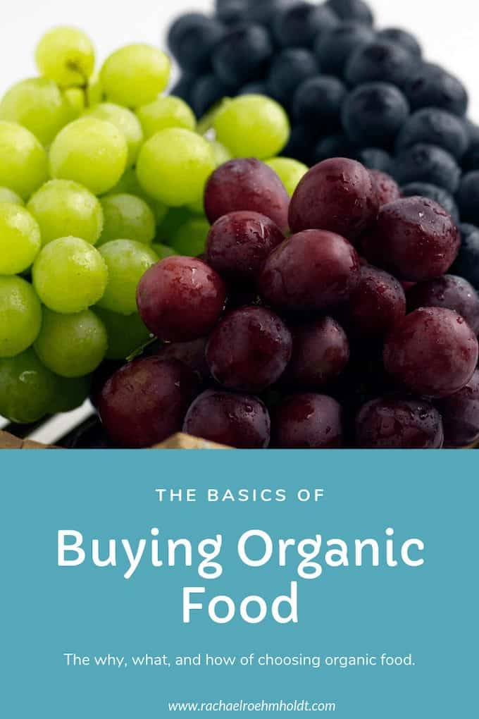 The basics of buying organic food
