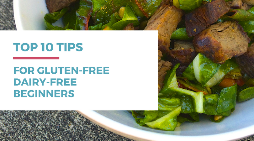 Are you new to a gluten-free dairy-free diet? Check out these top 10 tips for gluten-free dairy-free diet beginners.