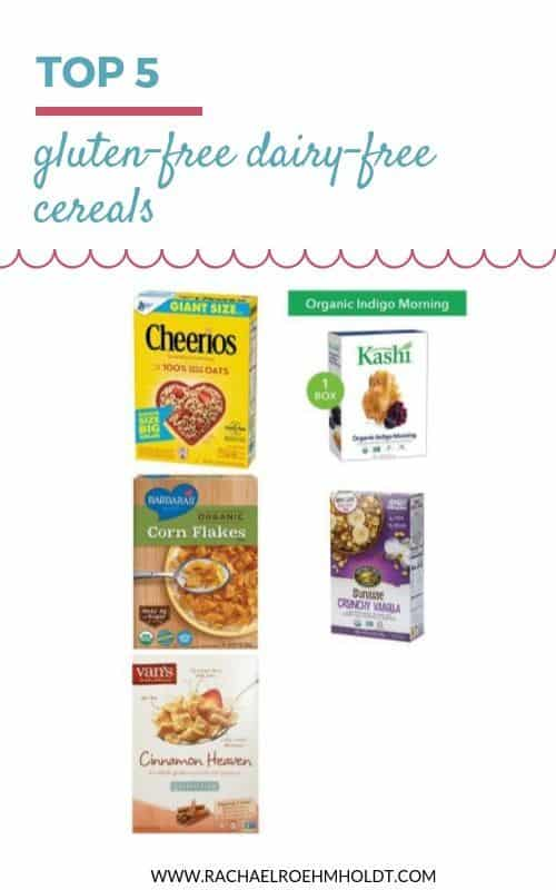 5 Gluten and Dairy-free Cereals