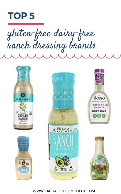 Top 5 Gluten-free Dairy-free Ranch Dressing Brands