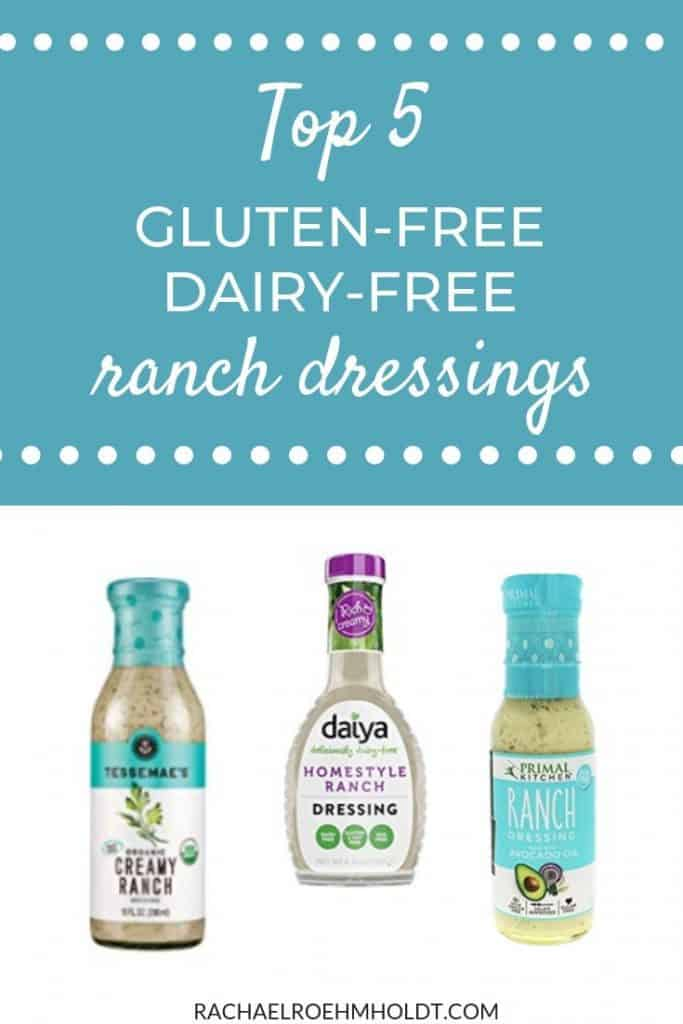 Top 5 Gluten-free Dairy-free Ranch Dressings