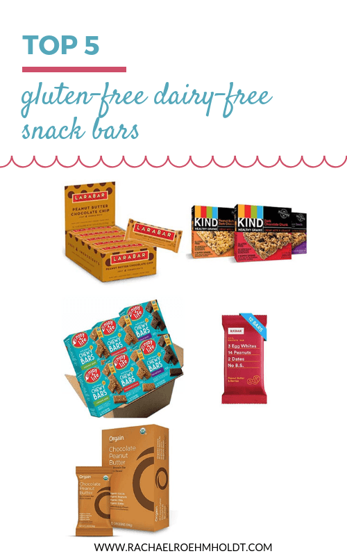 Top 5 gluten-free dairy-free snack bars