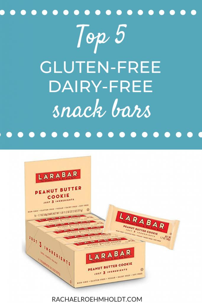 Top 5 gluten-free dairy-free snack bars