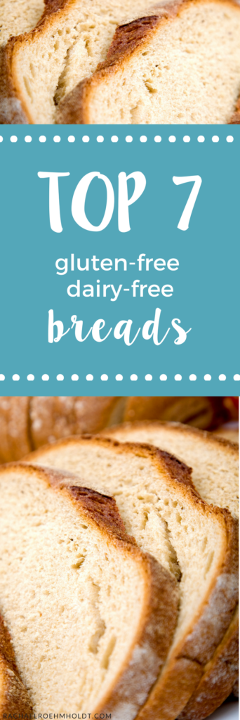 With all the options out there, how do you know which gluten-free bread is the best? Better yet, if you're living with a dairy intolerance too - how do you know what bread is dairy-free also? I've got you covered with these top 7 gluten-free dairy-free bread recommendations!