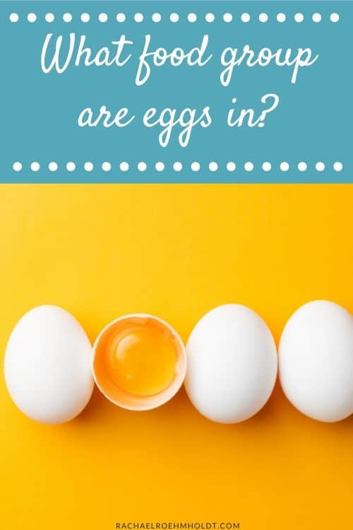 What food group are eggs in?
